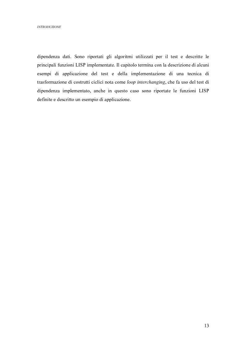 Anteprima della tesi: Analisi di un ambiente simbolico per lo sviluppo di un compilatore parallelizzante, Pagina 7