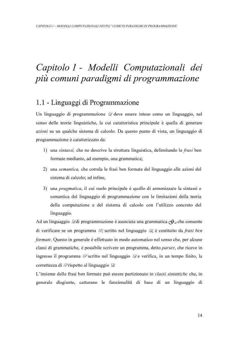 Anteprima della tesi: Analisi di un ambiente simbolico per lo sviluppo di un compilatore parallelizzante, Pagina 8