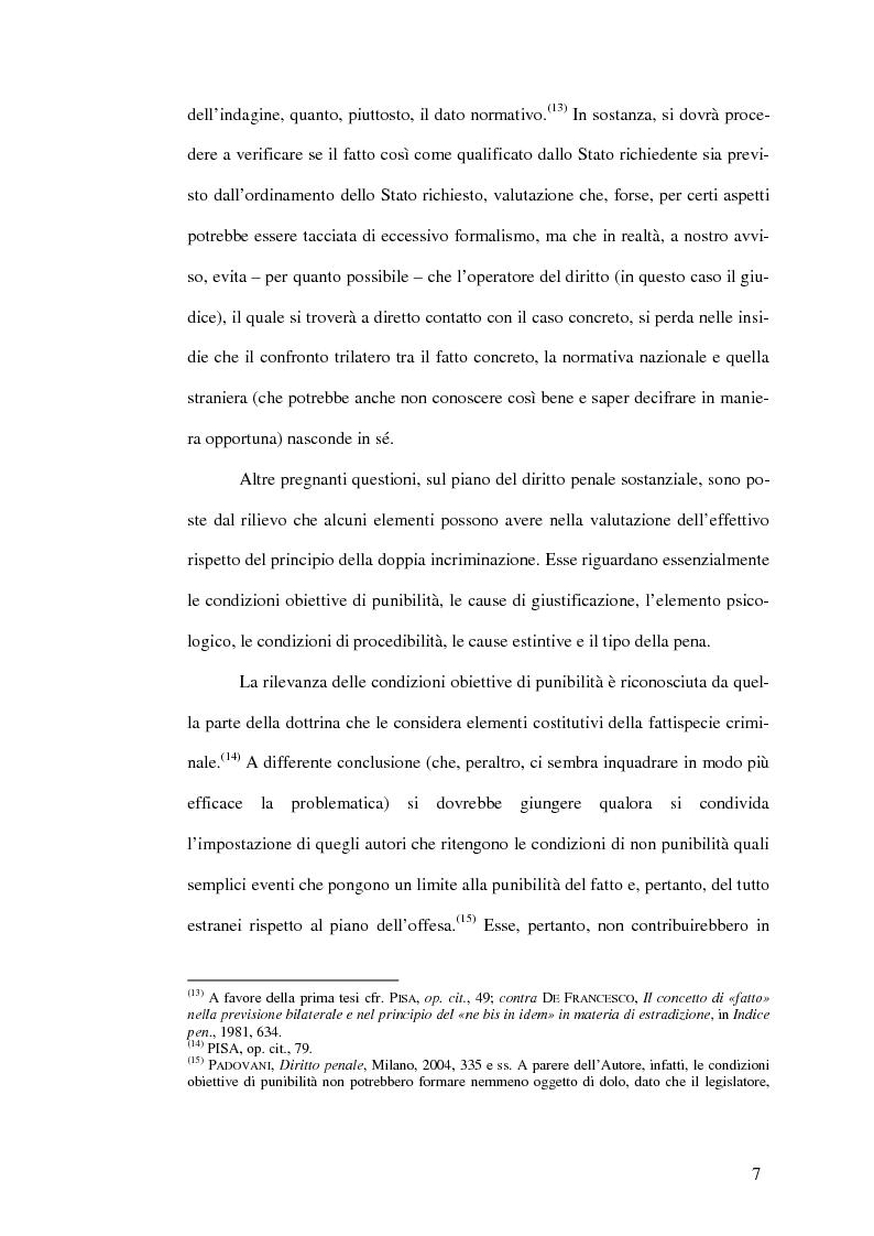 Anteprima della tesi: Il mandato d'arresto europeo. I profili sostanziali della cooperazione degli Stati membri dell'Unione Europea in materia penale tra disciplina comunitaria e principi di garanzia., Pagina 11