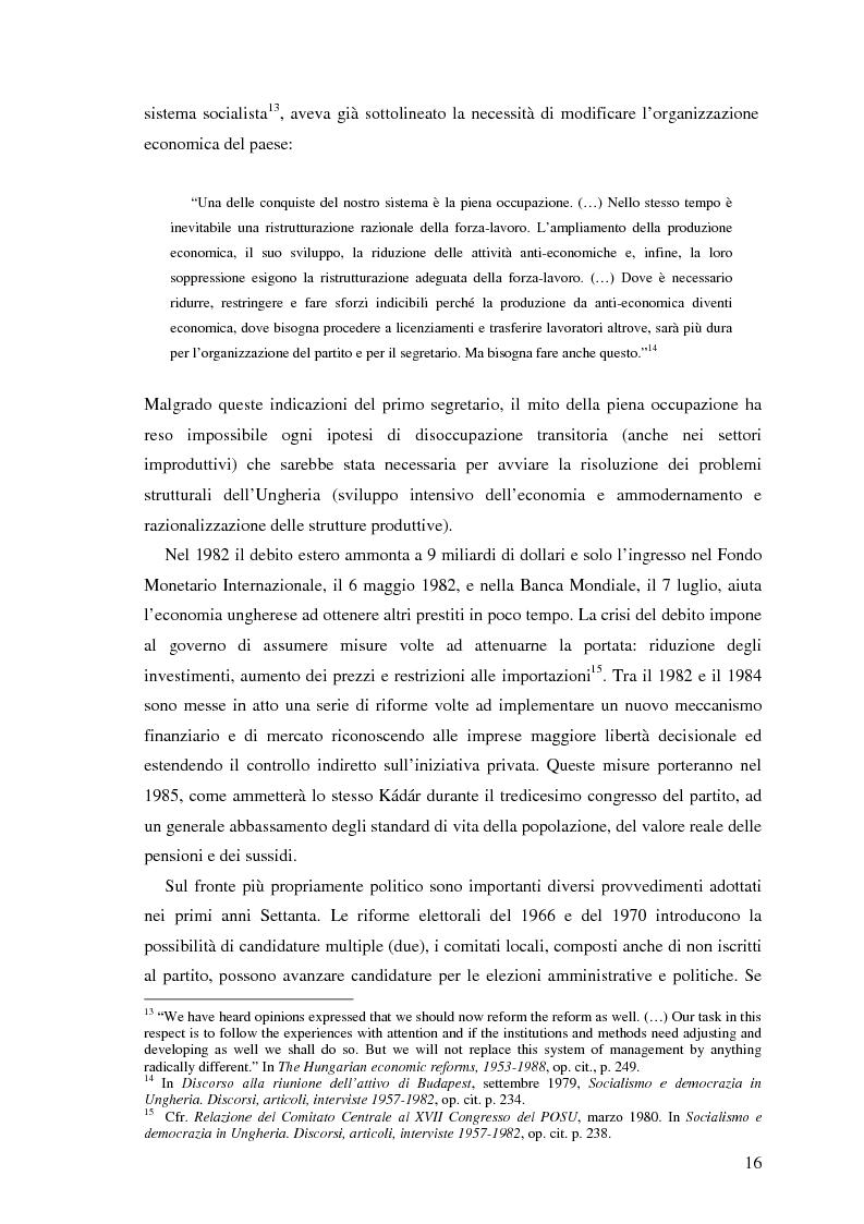 Anteprima della tesi: Il processo di transizione in Ungheria e Romania, Pagina 12