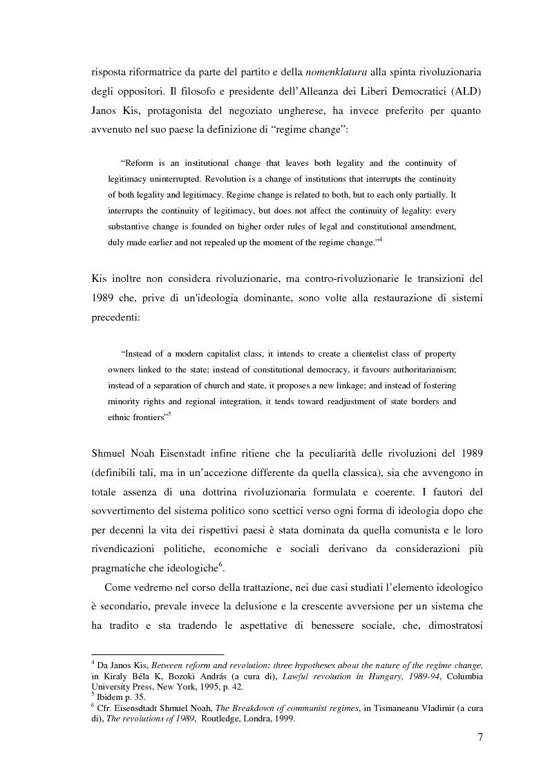 Anteprima della tesi: Il processo di transizione in Ungheria e Romania, Pagina 3