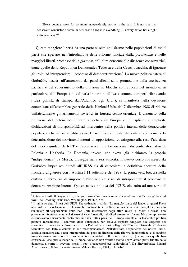 Anteprima della tesi: Il processo di transizione in Ungheria e Romania, Pagina 5