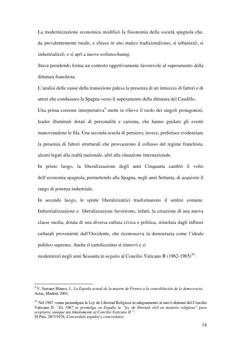 Anteprima della tesi: Il ruolo de El País nella transizione democratica spagnola tra il 1976 e il 1982, Pagina 10