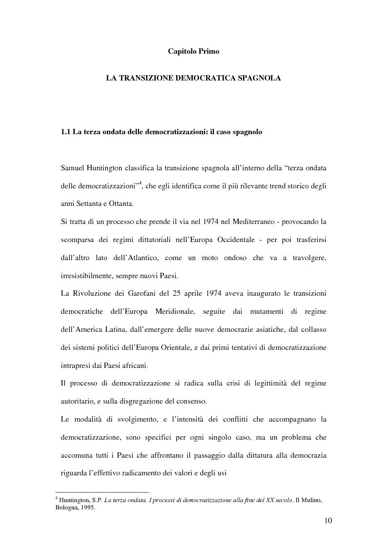 Anteprima della tesi: Il ruolo de El País nella transizione democratica spagnola tra il 1976 e il 1982, Pagina 6