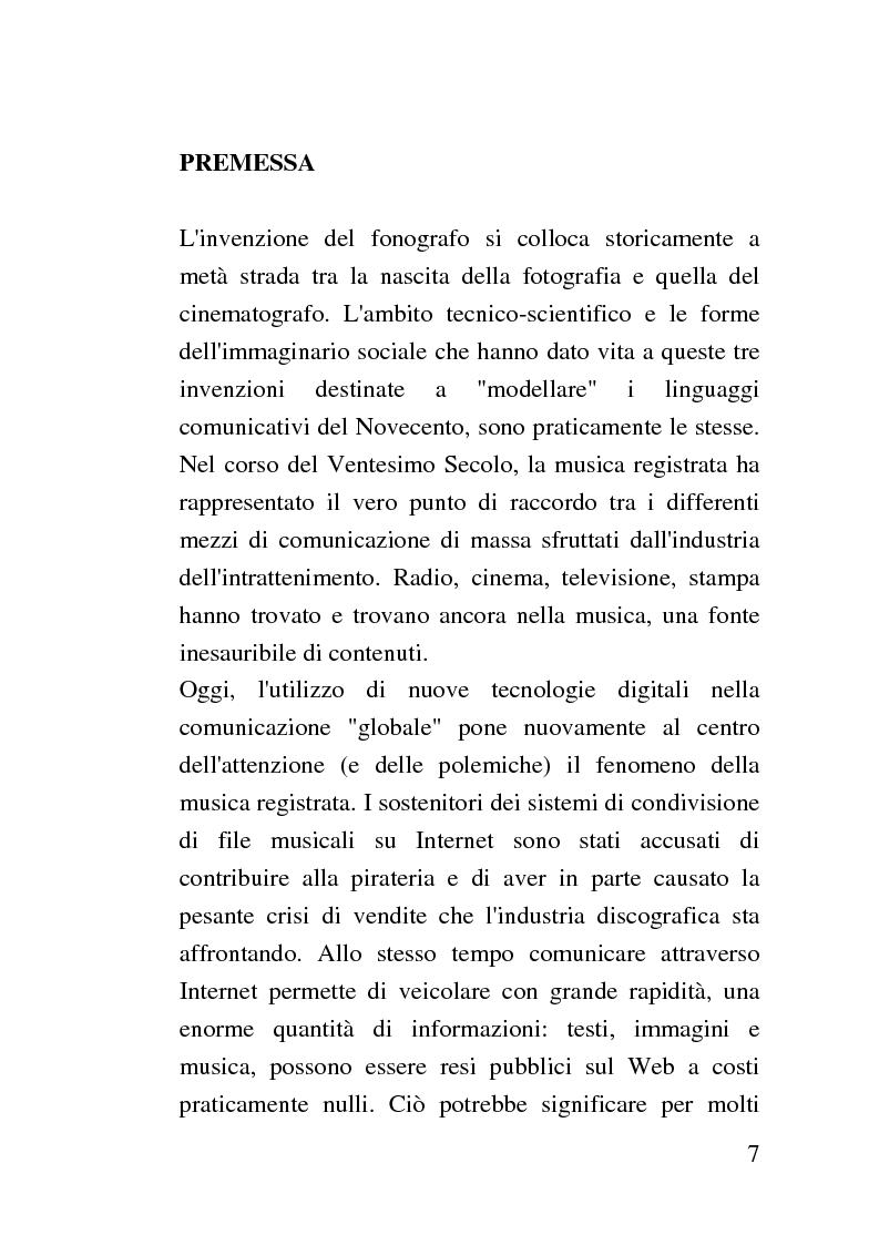 Anteprima della tesi: L'Arca Musarithmica. Quadri e azione tecnologica nell'industria discografica italiana, Pagina 1