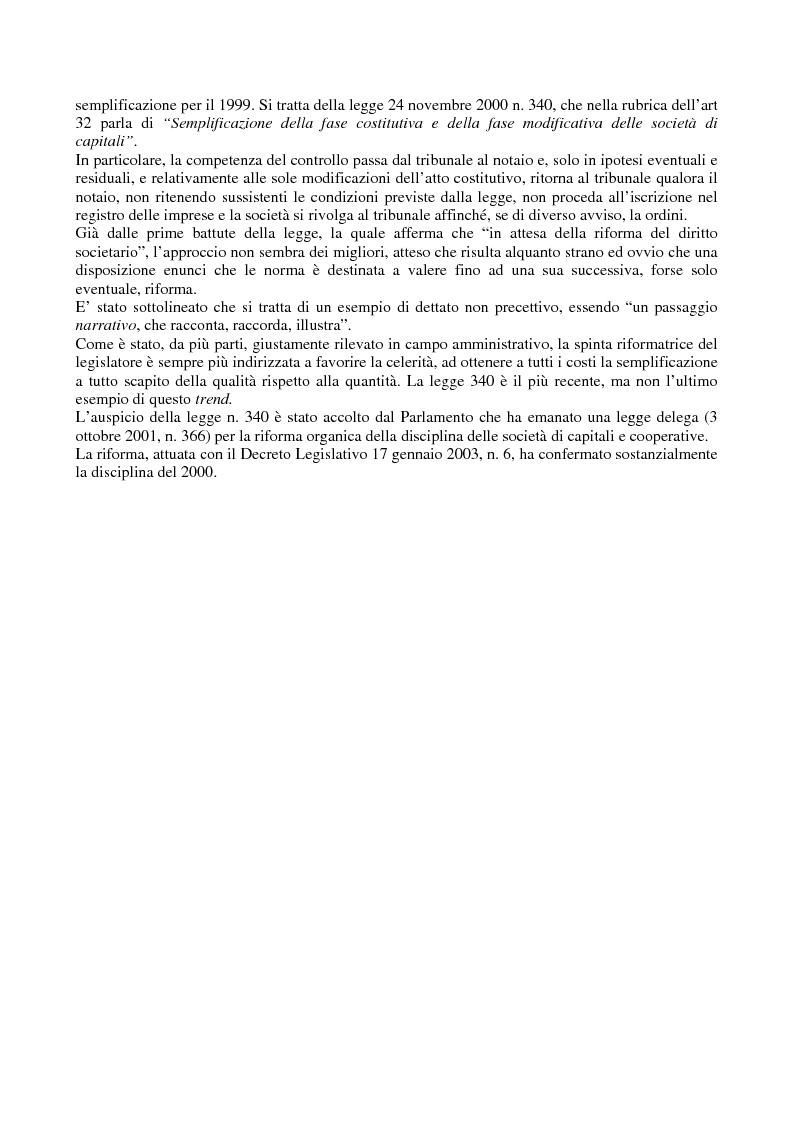 Anteprima della tesi: Il controllo di legittimità sugli atti societari, Pagina 2