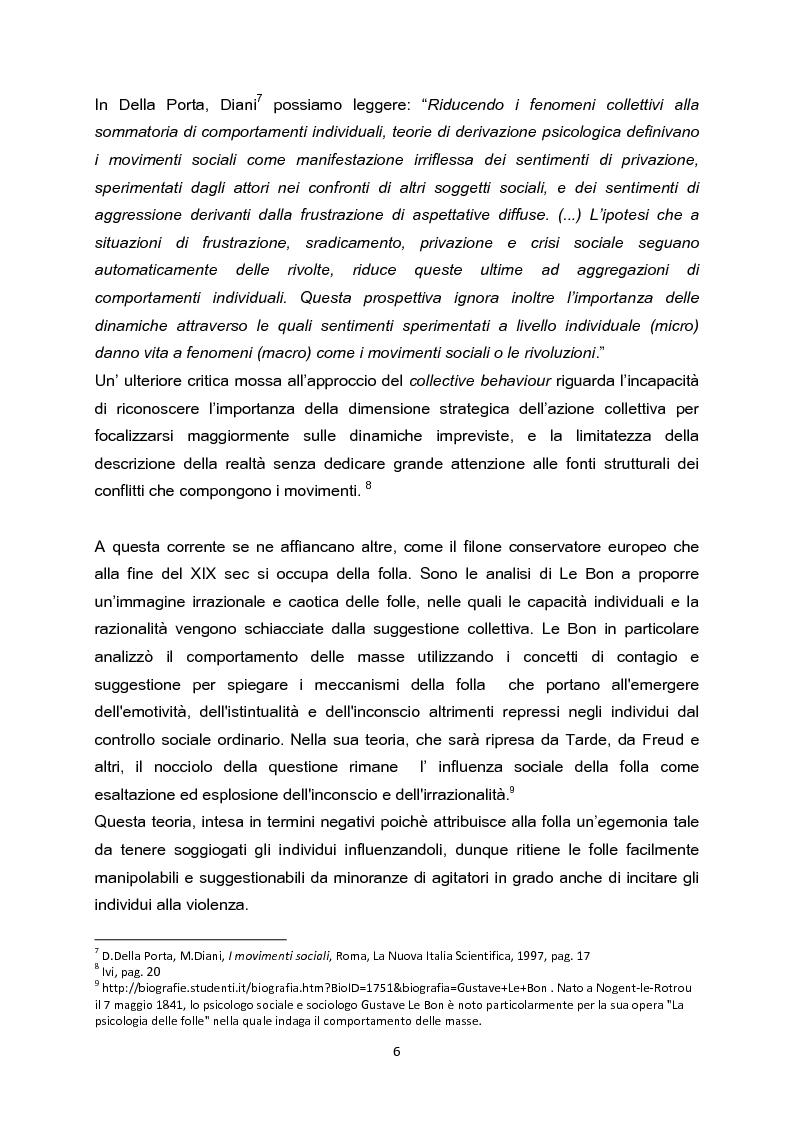 Anteprima della tesi: La testa indipendente. Movimenti sociali urbani e centri sociali autogestiti, Pagina 4