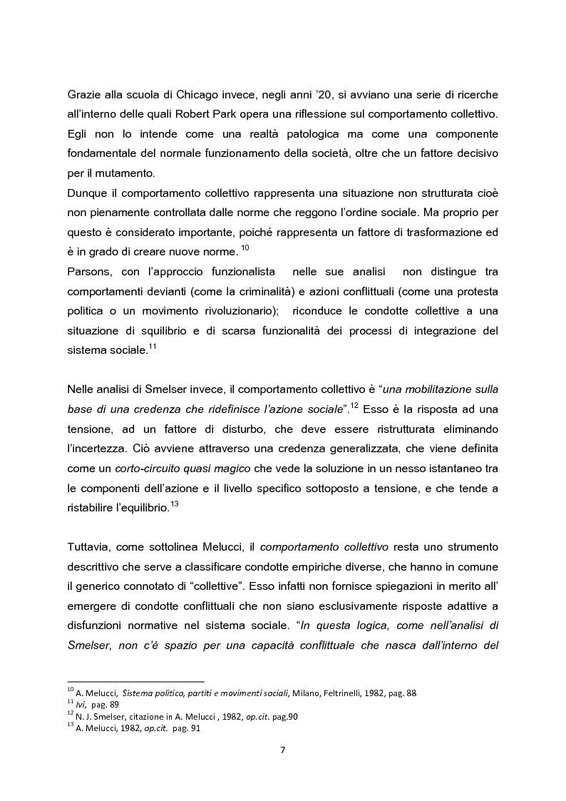Anteprima della tesi: La testa indipendente. Movimenti sociali urbani e centri sociali autogestiti, Pagina 5