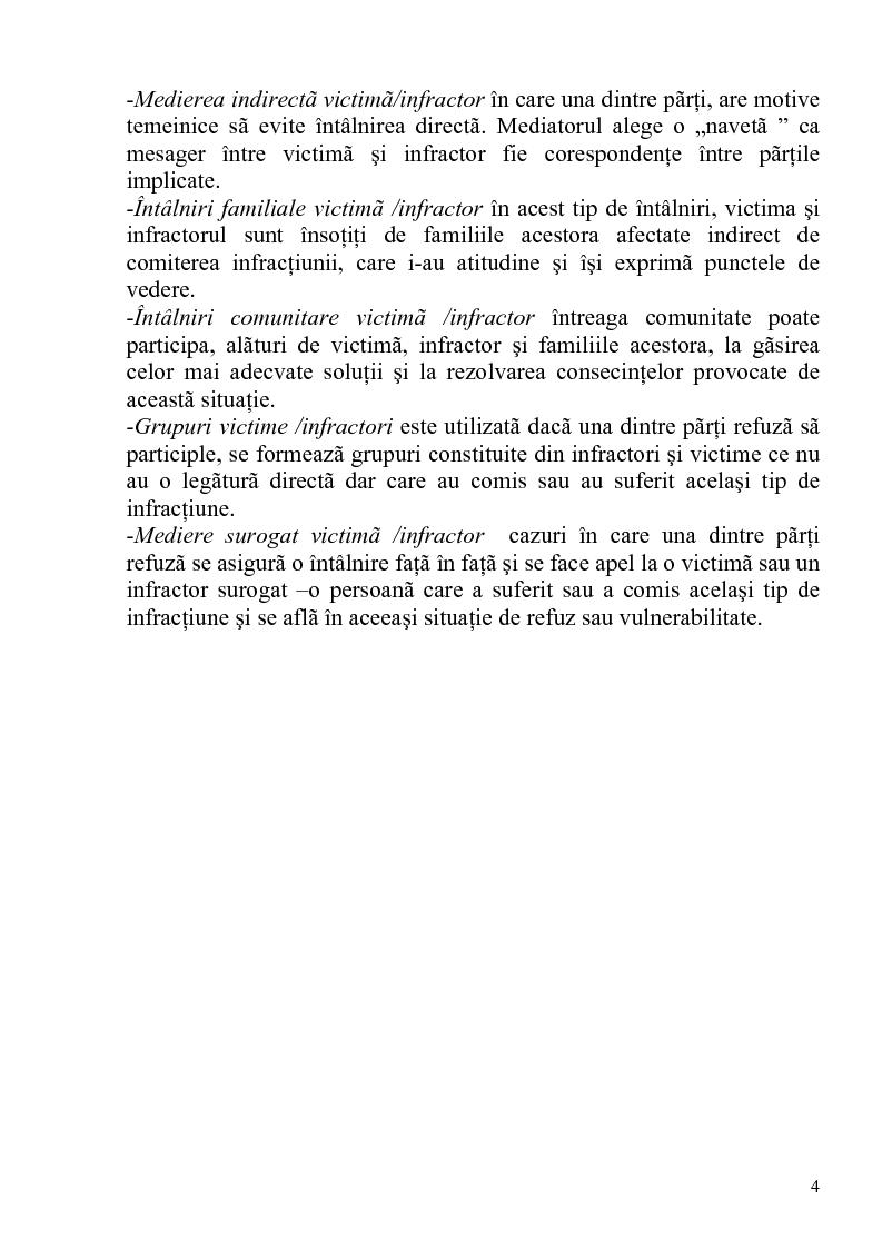 Anteprima della tesi: Medierea ca proces de impacare a victimei cu infractorul, Pagina 2