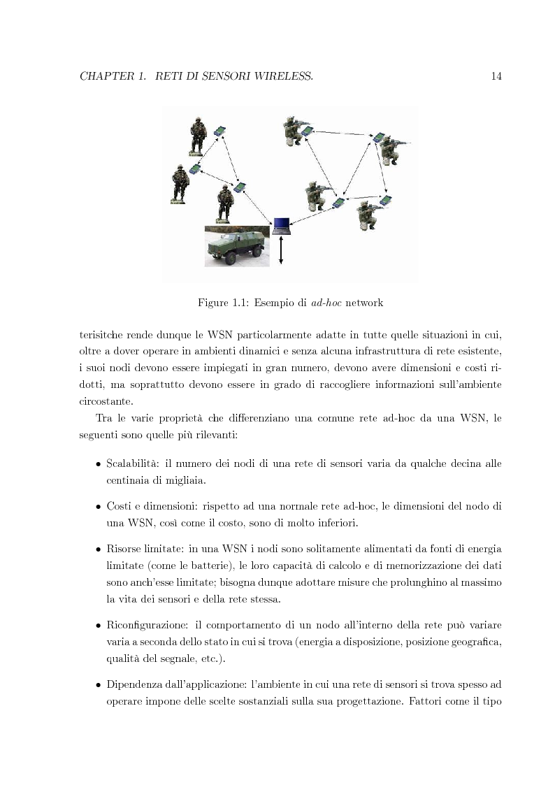 Anteprima della tesi: Sistema per la riprogrammazione wireless ed il monitoraggio delle reti di sensori wireless, Pagina 7