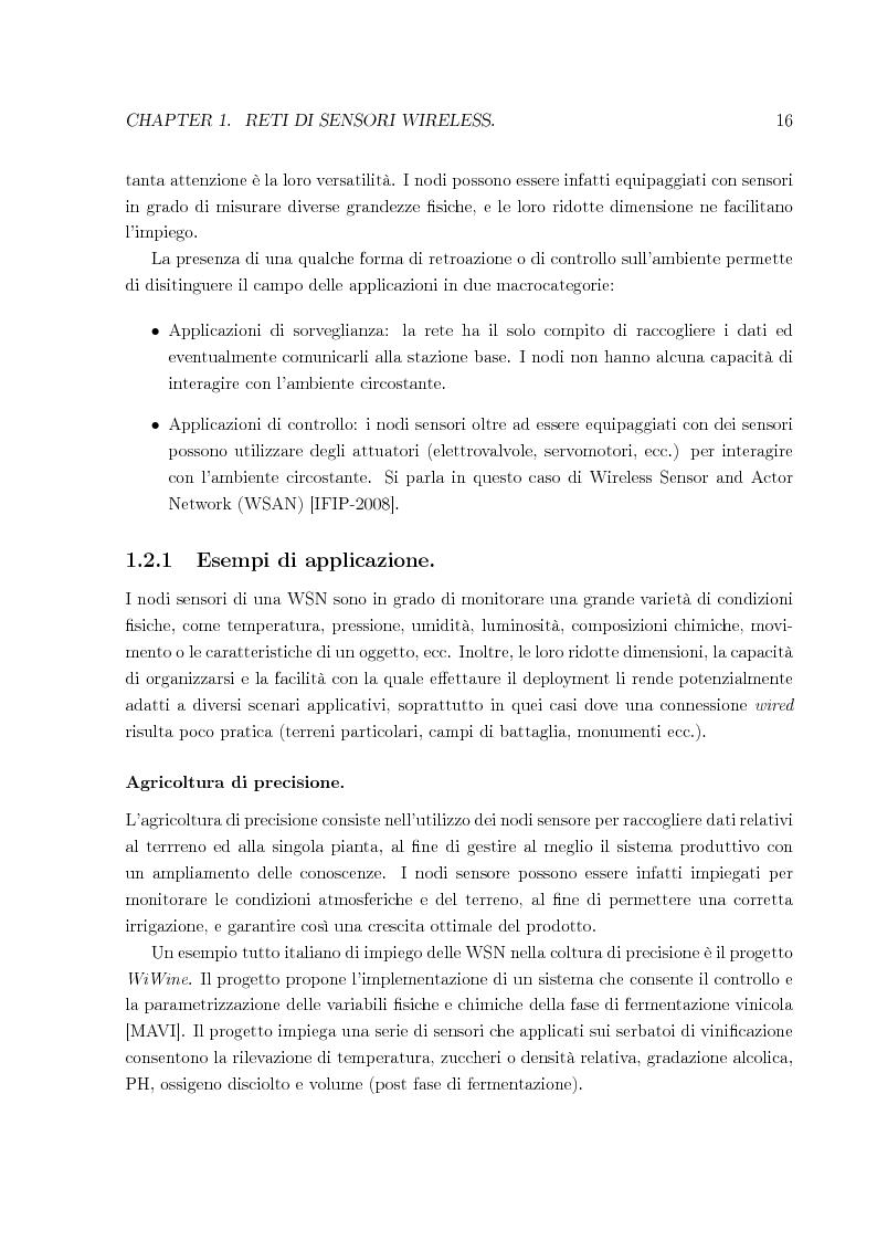 Anteprima della tesi: Sistema per la riprogrammazione wireless ed il monitoraggio delle reti di sensori wireless, Pagina 9