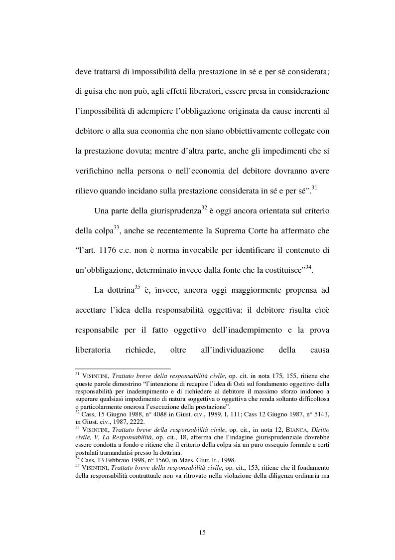 Anteprima della tesi: Gli obblighi di protezione e la teoria del contatto sociale, Pagina 12