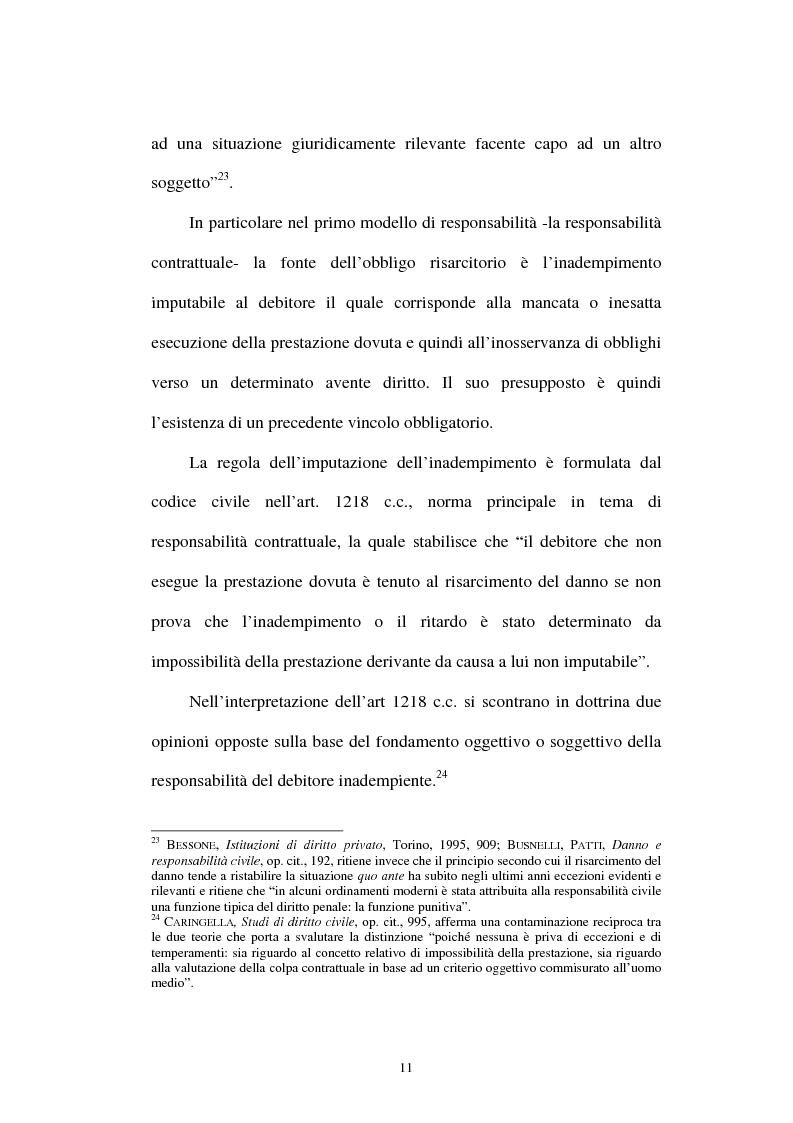 Anteprima della tesi: Gli obblighi di protezione e la teoria del contatto sociale, Pagina 8