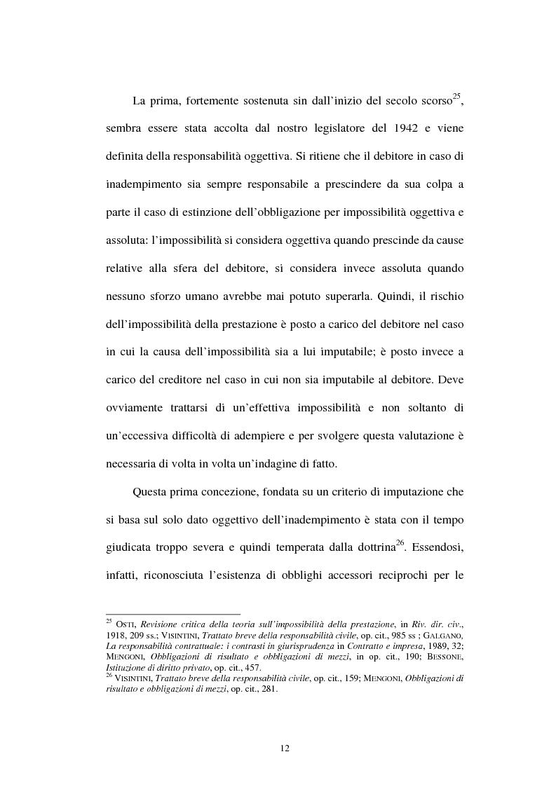 Anteprima della tesi: Gli obblighi di protezione e la teoria del contatto sociale, Pagina 9