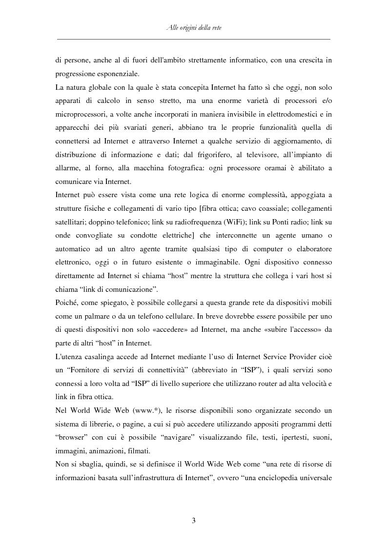 Anteprima della tesi: Detenzione di materiale pedopornografico (art. 600-quater C.P.) e Internet. Legislazione, casistica e questioni giurispudenziali., Pagina 3