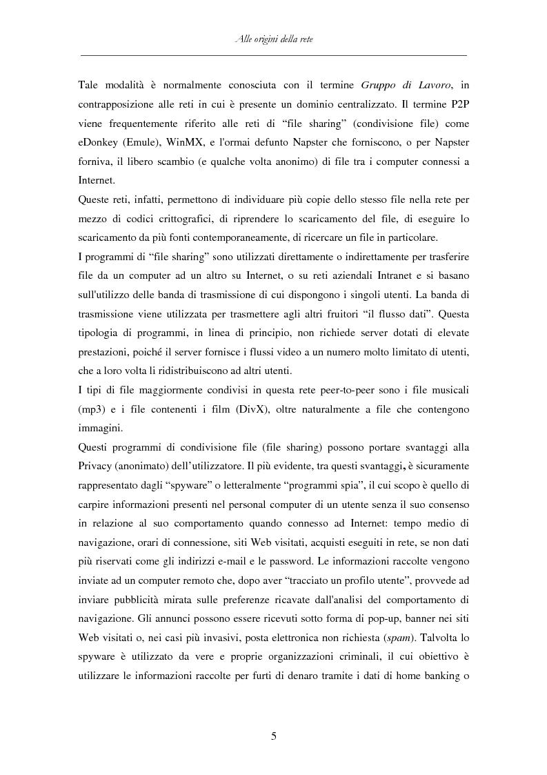 Anteprima della tesi: Detenzione di materiale pedopornografico (art. 600-quater C.P.) e Internet. Legislazione, casistica e questioni giurispudenziali., Pagina 5