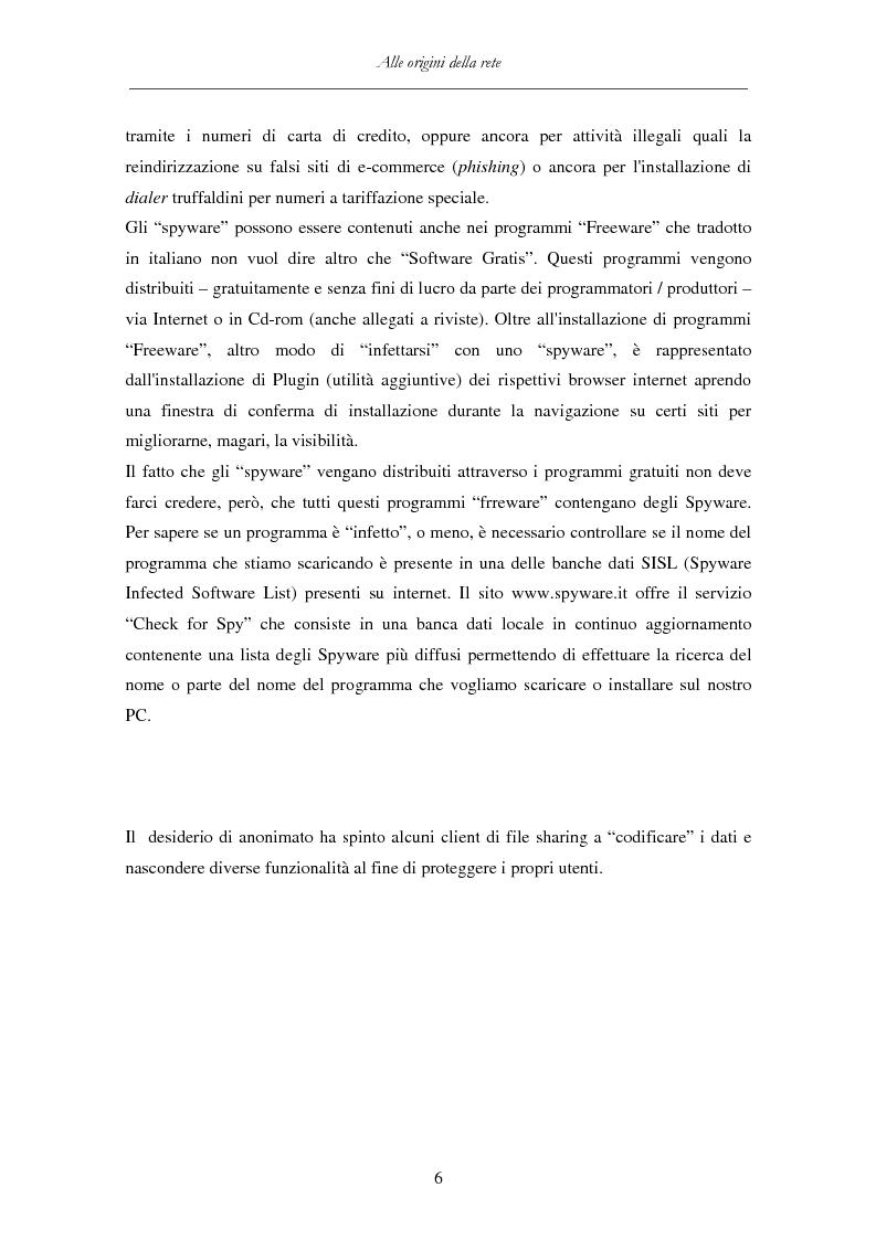 Anteprima della tesi: Detenzione di materiale pedopornografico (art. 600-quater C.P.) e Internet. Legislazione, casistica e questioni giurispudenziali., Pagina 6