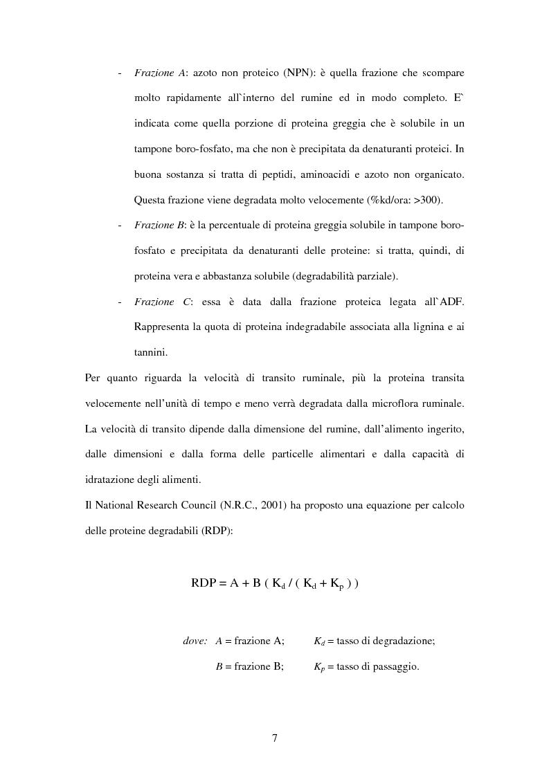 Anteprima della tesi: Utilizzo di fonti proteiche alternative alla soia nell'alimentazione biologica della vacca da latte in alpeggio, Pagina 2