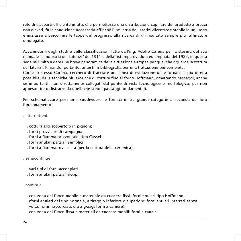 Anteprima della tesi: Valorizzazione dell'area dell'ex fornace Lolli di Fusignano (RA): ipotesi di restauro e allestimento dei reperti industriali e di progetto di un nuovo polo di formazione professionale, Pagina 11