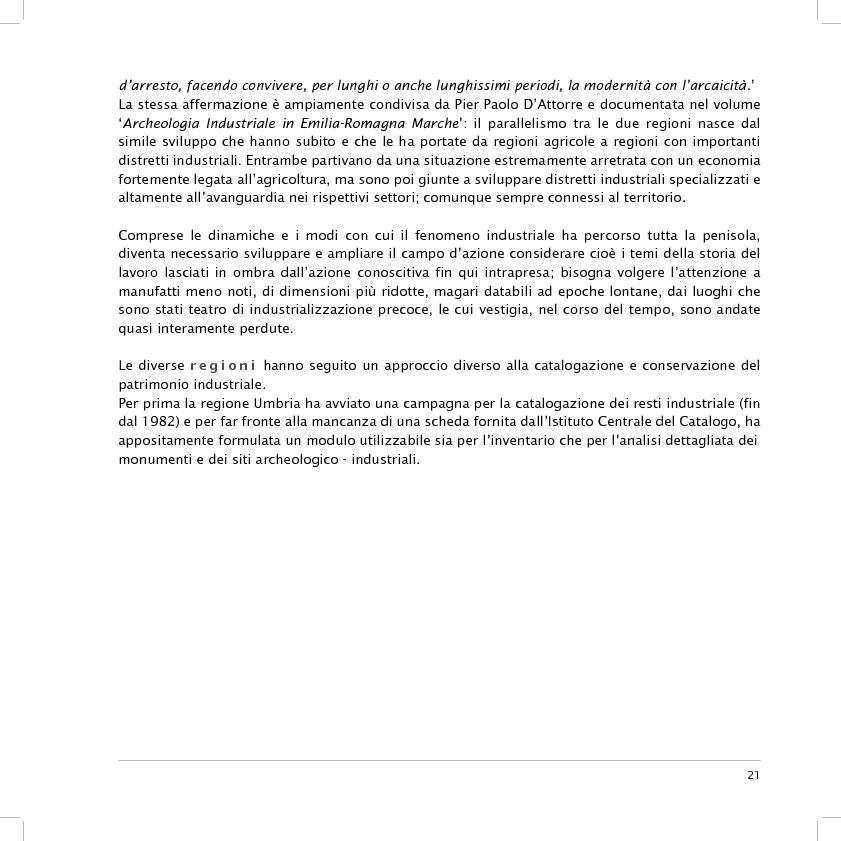 Anteprima della tesi: Valorizzazione dell'area dell'ex fornace Lolli di Fusignano (RA): ipotesi di restauro e allestimento dei reperti industriali e di progetto di un nuovo polo di formazione professionale, Pagina 9