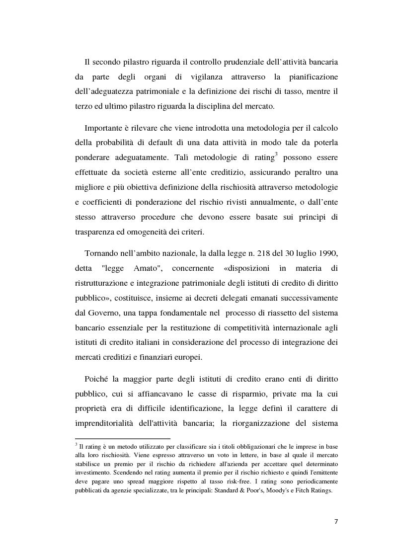 Anteprima della tesi: Integrazione banca-assicurazione: il caso Unipol, Pagina 4