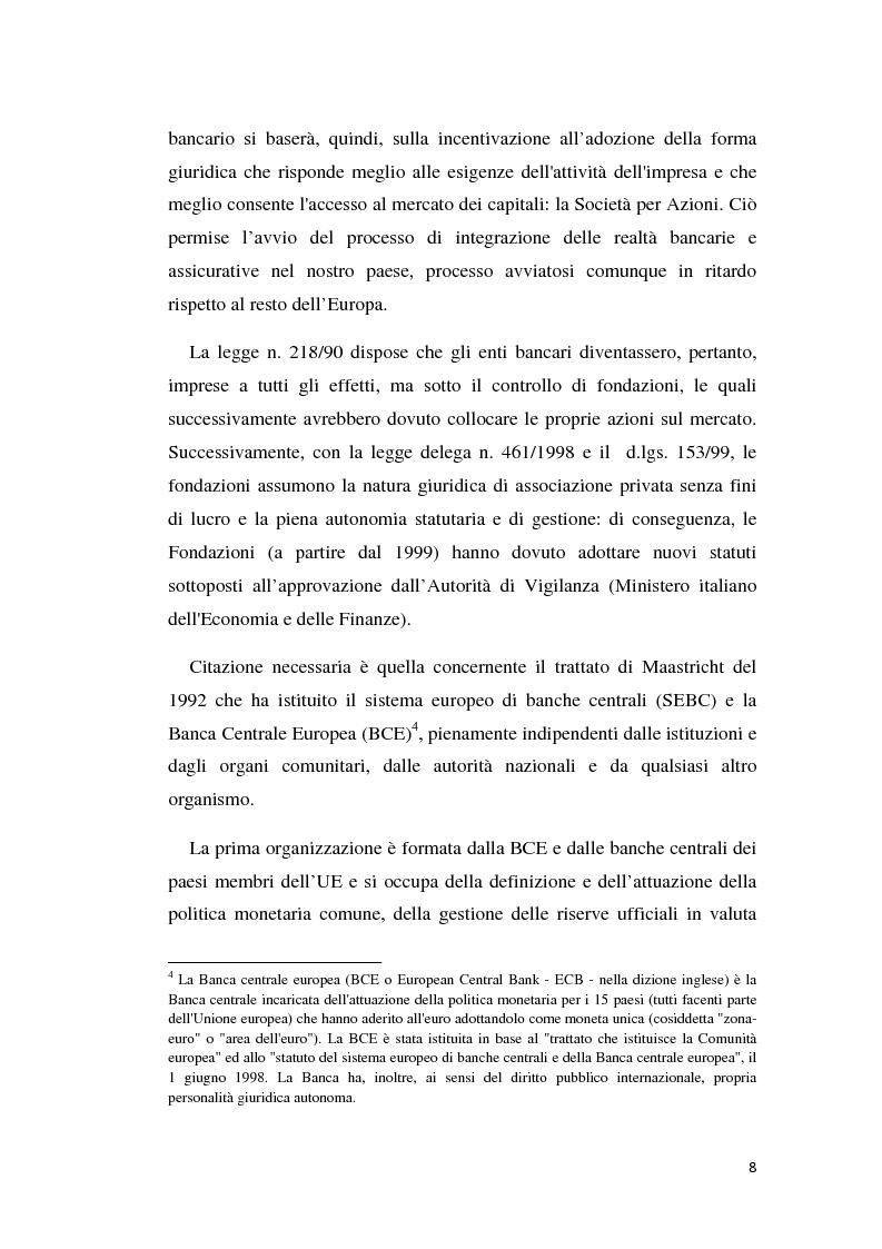 Anteprima della tesi: Integrazione banca-assicurazione: il caso Unipol, Pagina 5