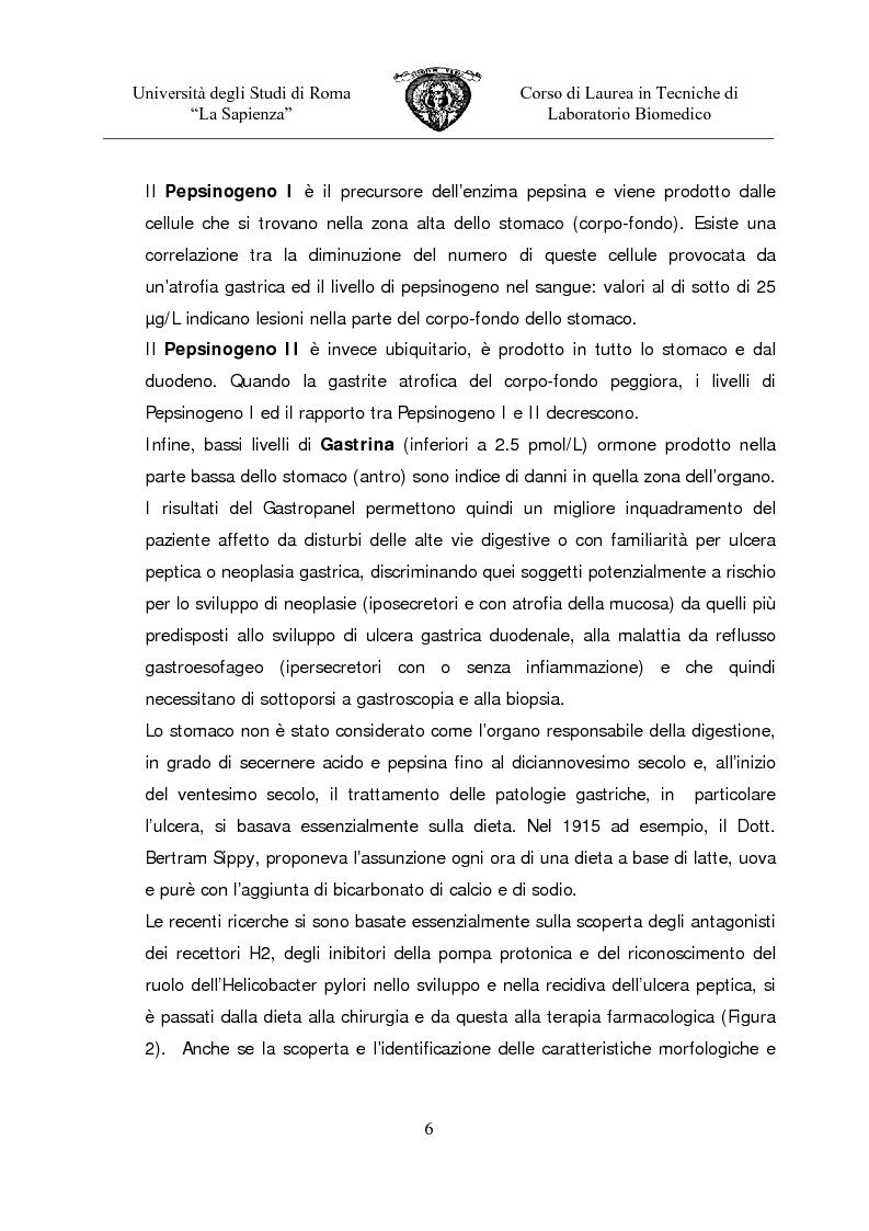 Anteprima della tesi: Gastropanel: un monitoraggio non invasivo della funzionalità della mucosa gastrica, Pagina 4