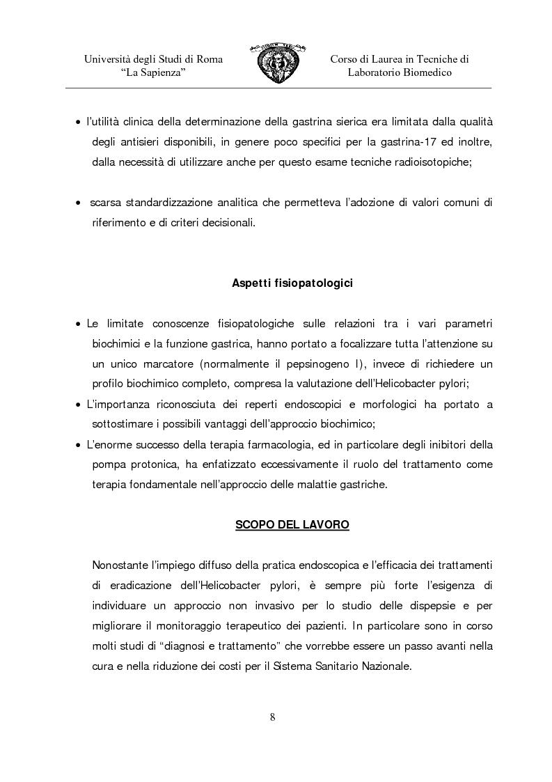 Anteprima della tesi: Gastropanel: un monitoraggio non invasivo della funzionalità della mucosa gastrica, Pagina 6