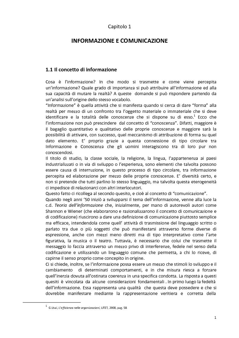 Anteprima della tesi: La capacità informativa del sistema contabile degli enti locali. Il caso del comune di Quartu Sant'Elena., Pagina 2