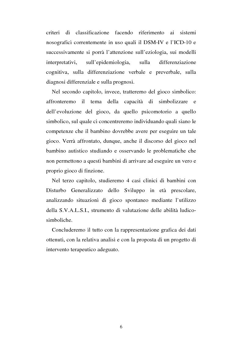Anteprima della tesi: Autismo e gioco - Osservazione e terapia nei bambini con uso della comunicazione verbale, Pagina 2