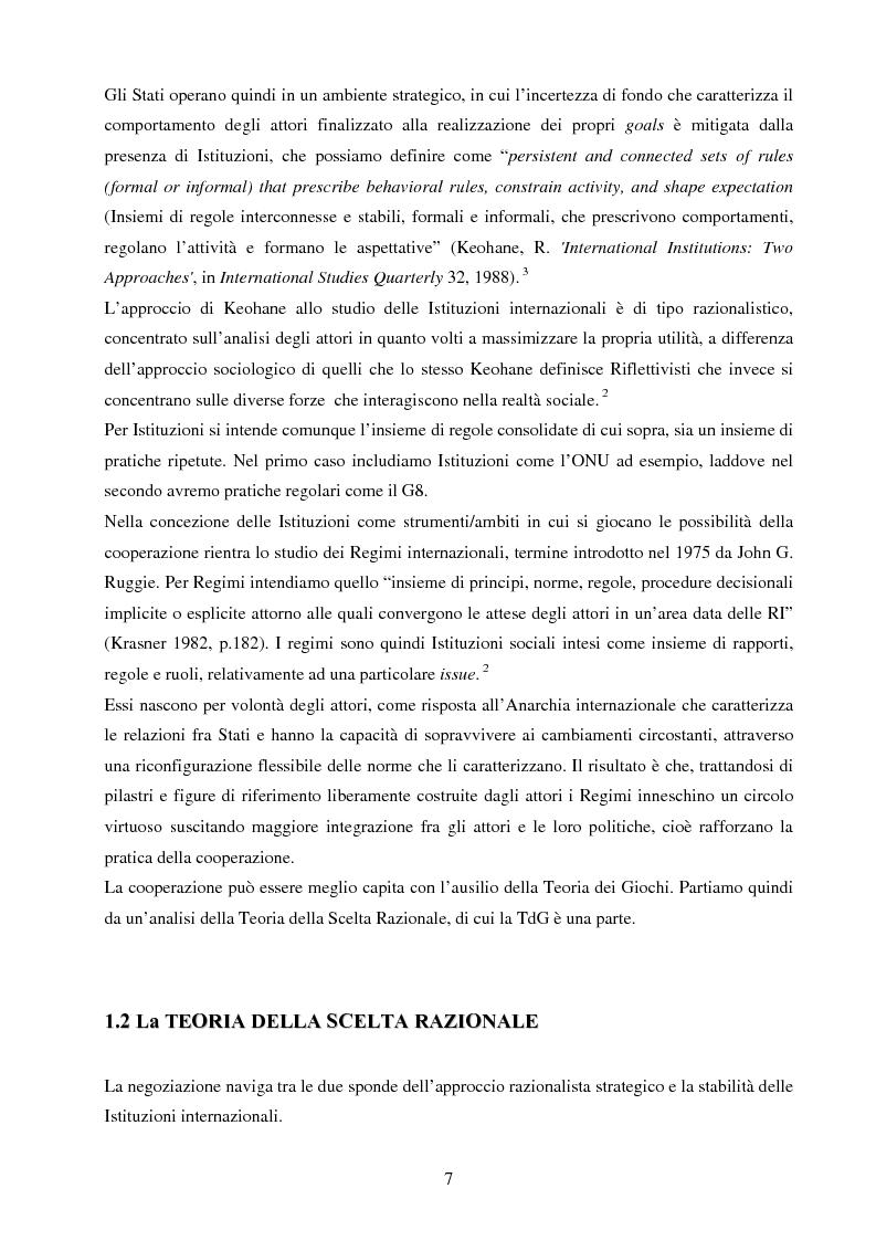 Anteprima della tesi: La negoziazione preventiva - Approccio strategico e teoria dei giochi, Pagina 5