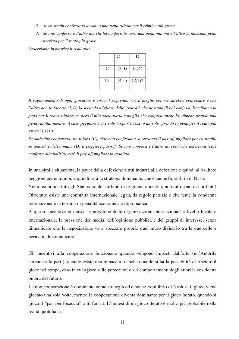 Anteprima della tesi: La negoziazione preventiva - Approccio strategico e teoria dei giochi, Pagina 9
