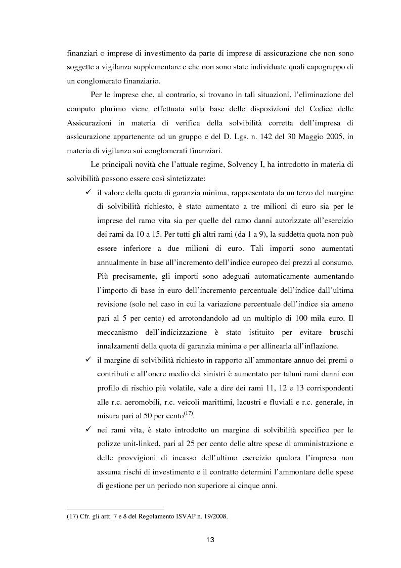 Anteprima della tesi: Enterprise Risk Management in campo assicurativo alla luce di Solvency II, Pagina 10
