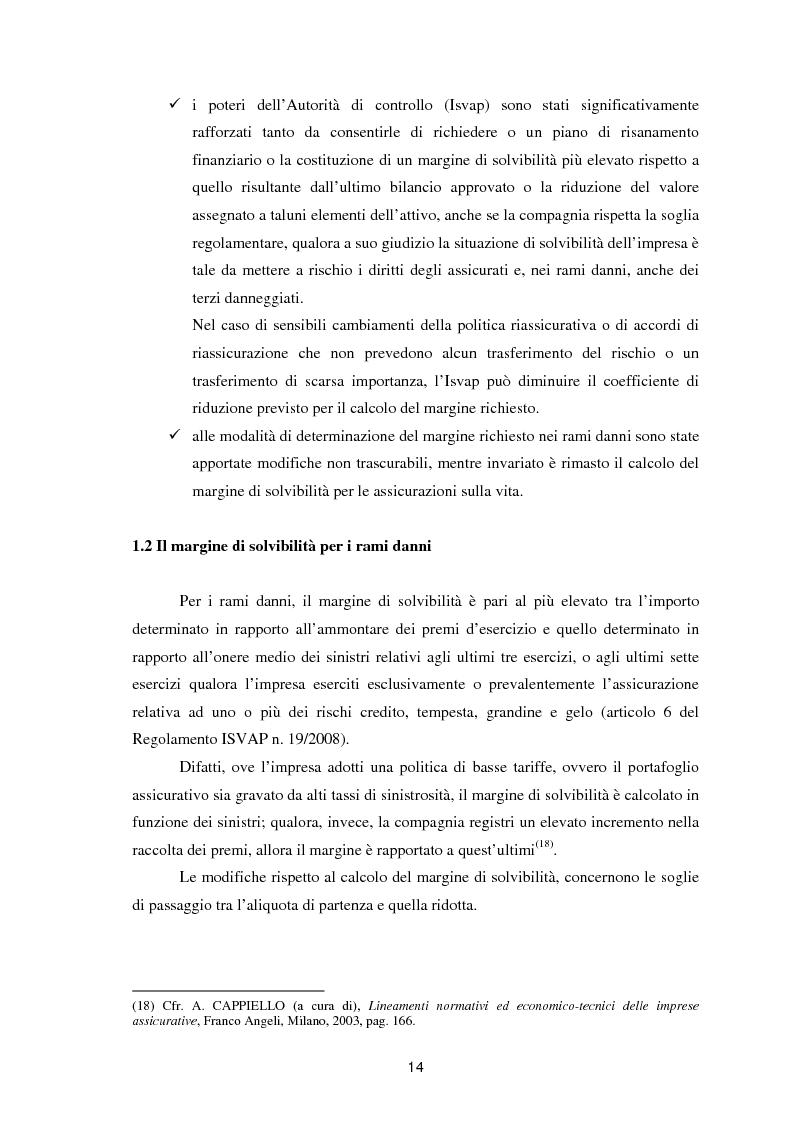 Anteprima della tesi: Enterprise Risk Management in campo assicurativo alla luce di Solvency II, Pagina 11