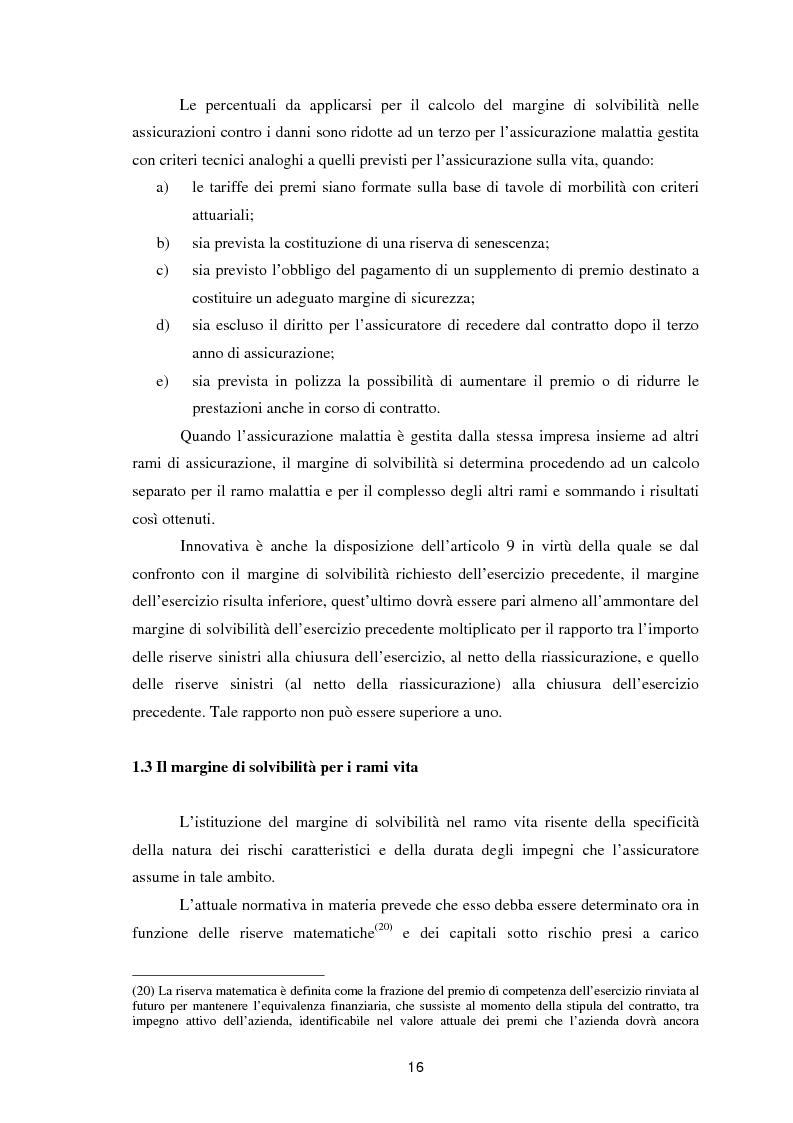Anteprima della tesi: Enterprise Risk Management in campo assicurativo alla luce di Solvency II, Pagina 13