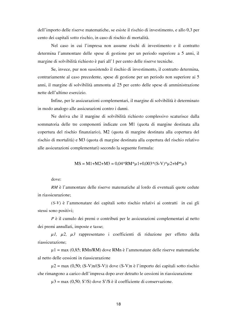 Anteprima della tesi: Enterprise Risk Management in campo assicurativo alla luce di Solvency II, Pagina 15