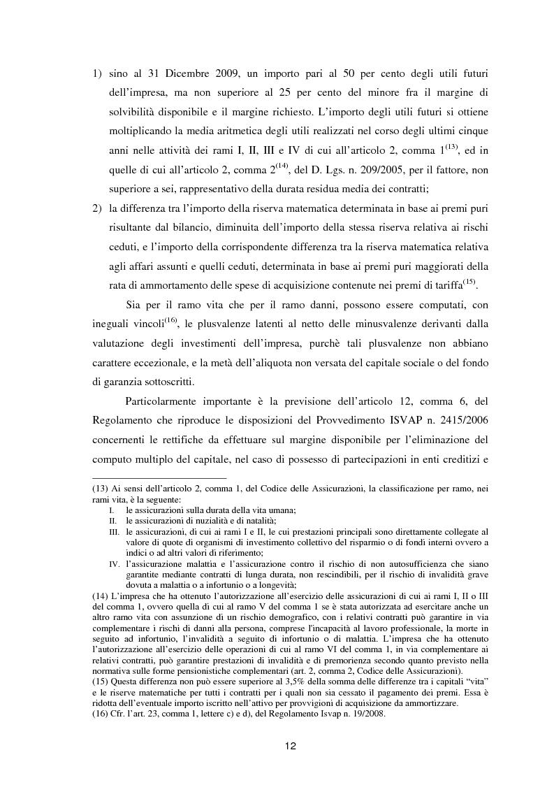 Anteprima della tesi: Enterprise Risk Management in campo assicurativo alla luce di Solvency II, Pagina 9
