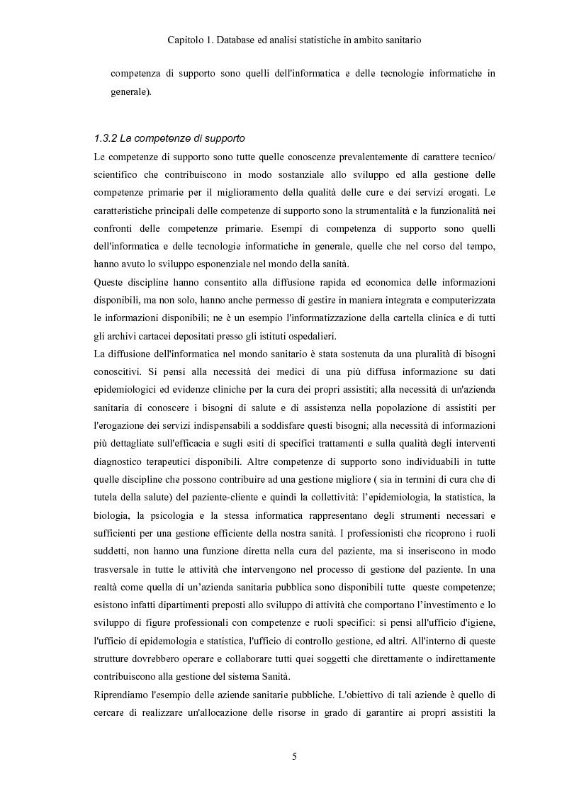 Anteprima della tesi: Progettazione e realizzazione di database di tipo medico a supporto del miglioramento nella diagnosi di una patologia, Pagina 8