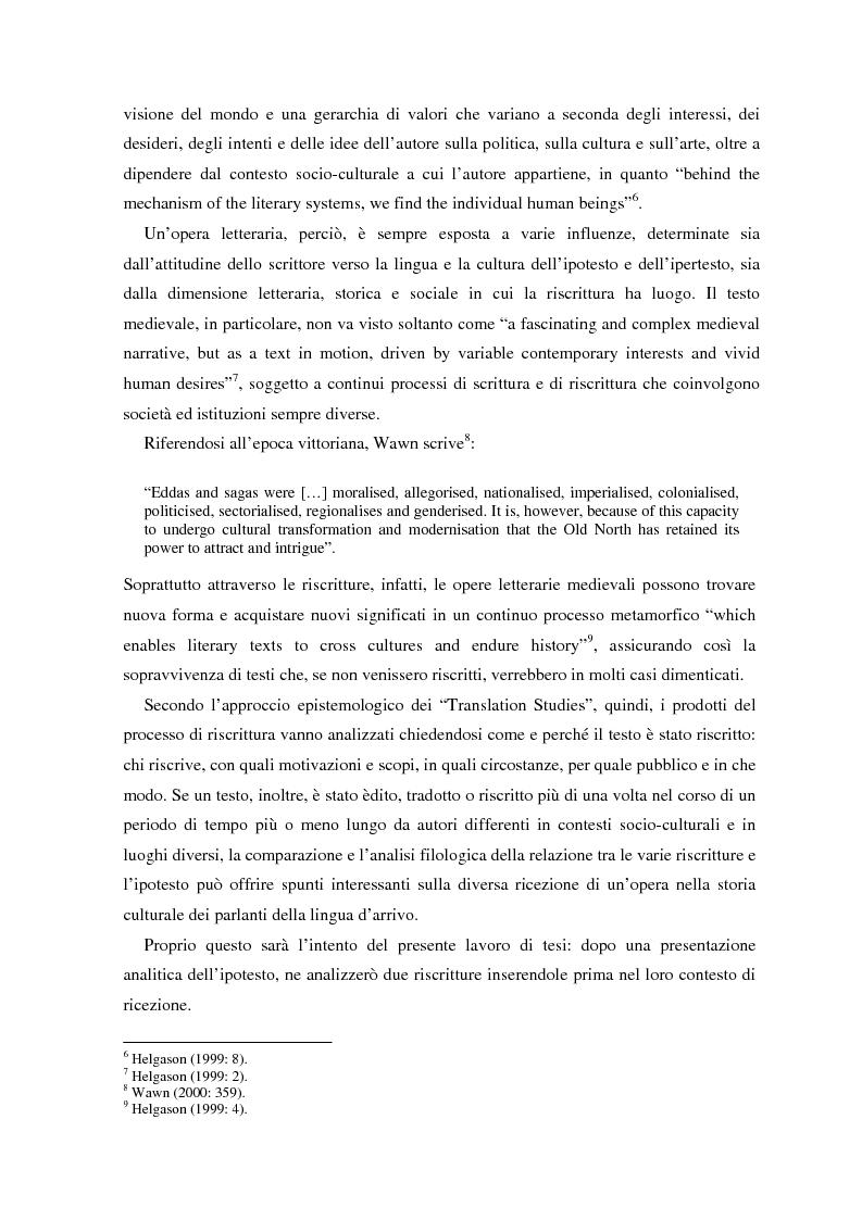 Anteprima della tesi: La ricezione e la rielaborazione delle saghe islandesi tra XIX e XX secolo in Inghilterra e negli Stati Uniti: il caso della Grettis saga, Pagina 2
