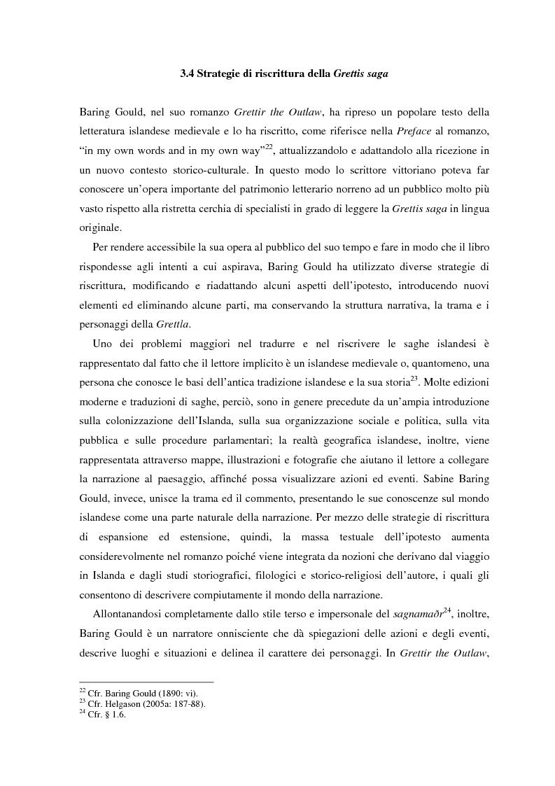 Anteprima della tesi: La ricezione e la rielaborazione delle saghe islandesi tra XIX e XX secolo in Inghilterra e negli Stati Uniti: il caso della Grettis saga, Pagina 6