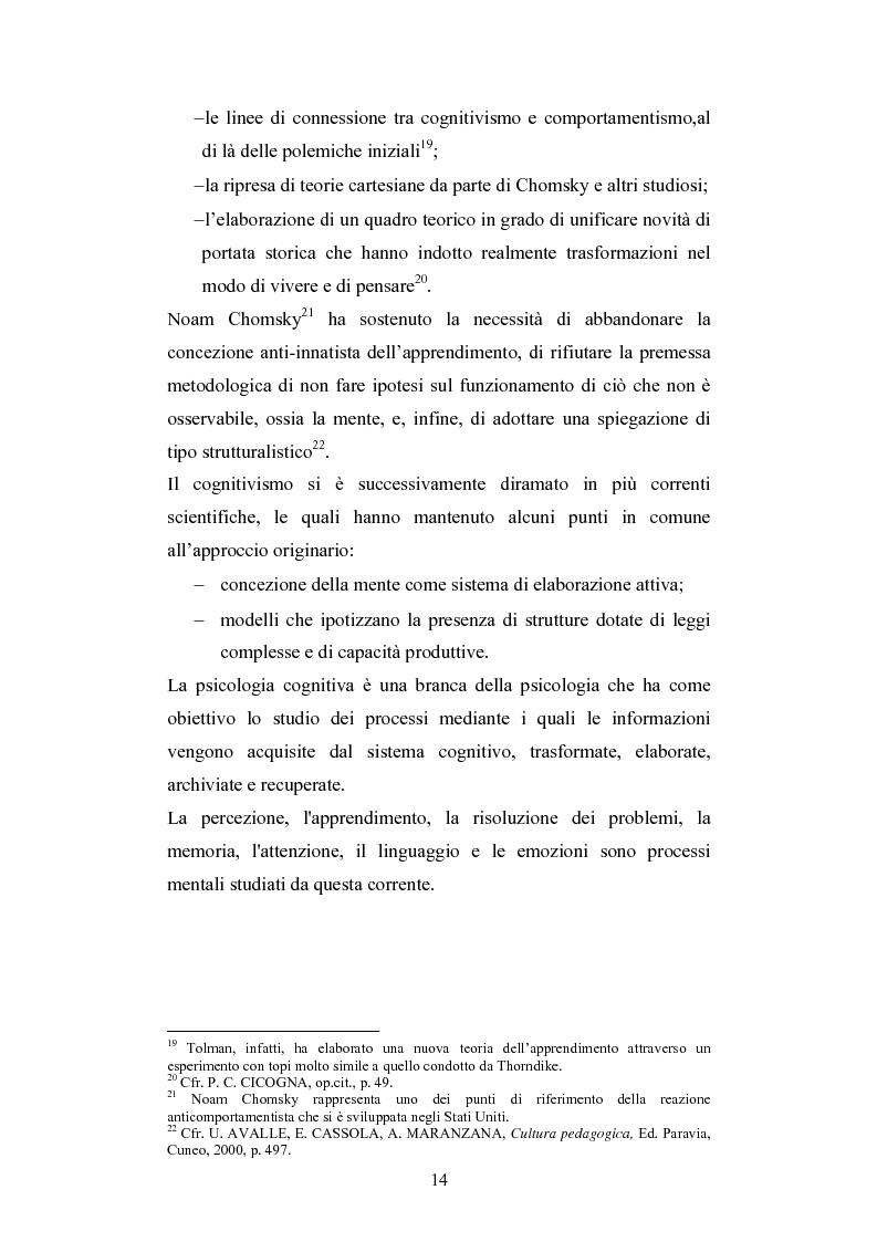 Anteprima della tesi: Nuove tecnologie e immagine: educare nell'era digitale tra You Tube e Second Life, Pagina 12