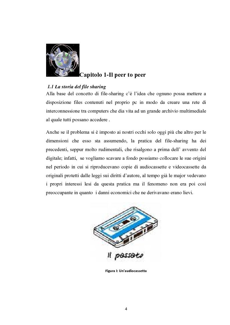 Anteprima della tesi: La social music: la fruizione musicale dal file sharing al social networking, Pagina 2