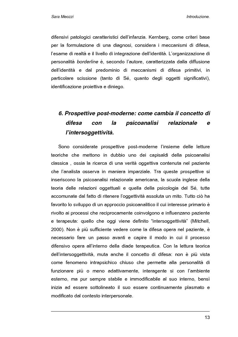 Anteprima della tesi: Meccanismi di difesa e strategie di coping, Pagina 10