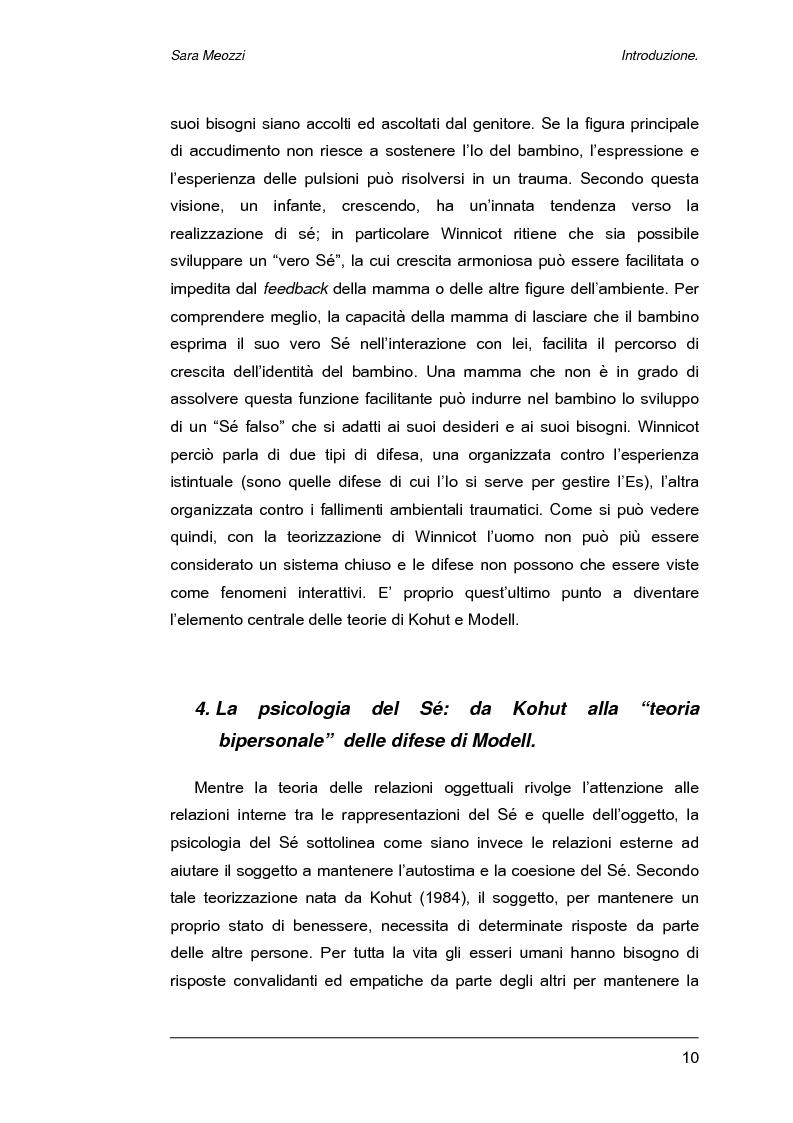 Anteprima della tesi: Meccanismi di difesa e strategie di coping, Pagina 7