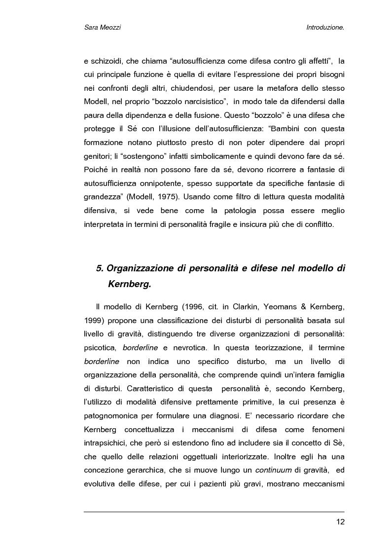 Anteprima della tesi: Meccanismi di difesa e strategie di coping, Pagina 9