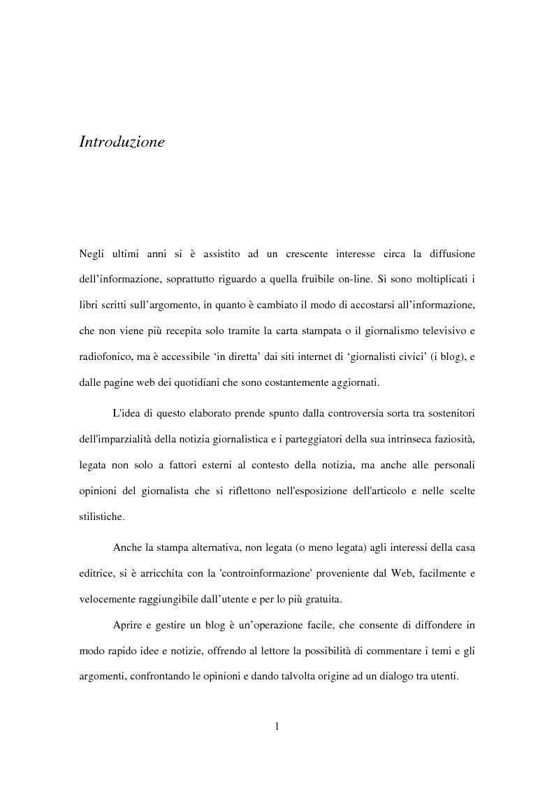 Anteprima della tesi: Informazione o distrazione? Internet come strumento di fruizione mediale consapevole, Pagina 1