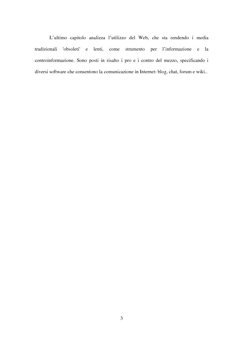 Anteprima della tesi: Informazione o distrazione? Internet come strumento di fruizione mediale consapevole, Pagina 3
