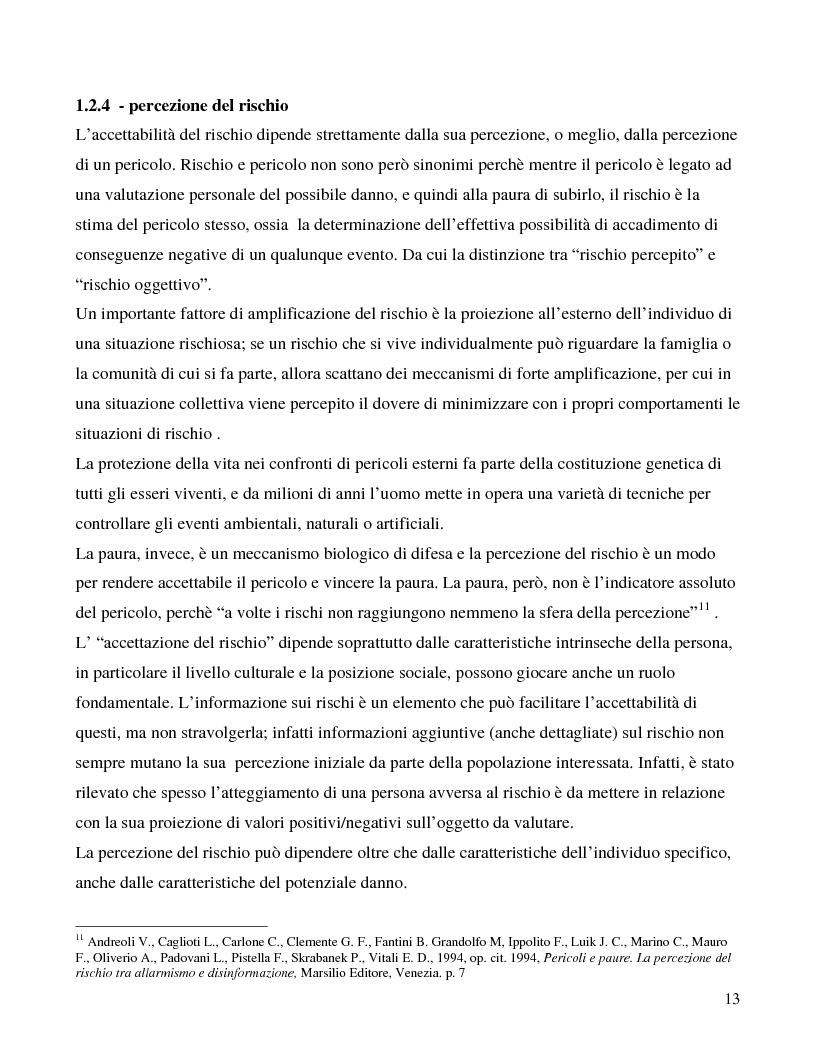 Anteprima della tesi: La città e il rischio ambientale; implicazioni progettuali per un frammento di laguna veneta, Pagina 10