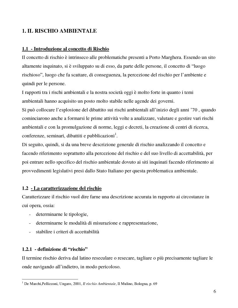Anteprima della tesi: La città e il rischio ambientale; implicazioni progettuali per un frammento di laguna veneta, Pagina 3
