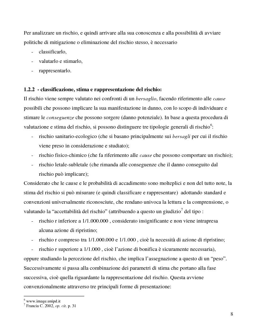 Anteprima della tesi: La città e il rischio ambientale; implicazioni progettuali per un frammento di laguna veneta, Pagina 5